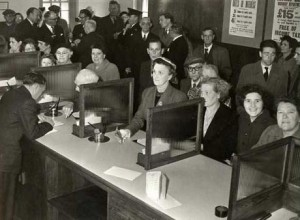 Bank-queues